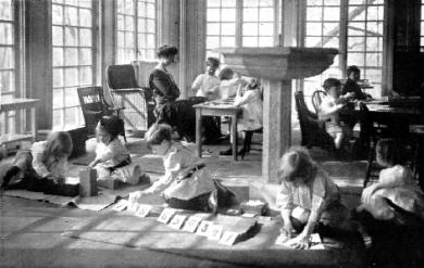 Farnham Montessori Nursery School - A Montessori Classroom
